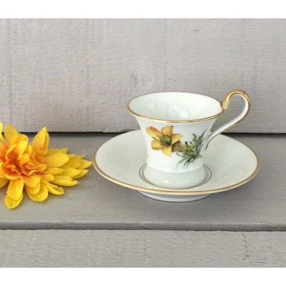 Vintage Espresso Cup - Lovely, Porcelain Demitasse